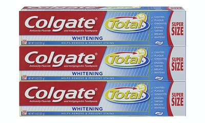 Colgate Total Whitening Toothpaste, 7.8 oz (3-Pack)