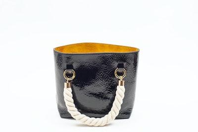 Janis Studios Darka Bag in Patent Size Small