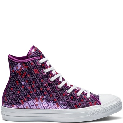 Converse Chuck Taylor All Star Holiday Scene Sequin High Top