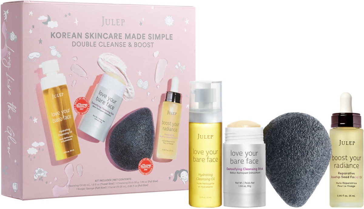Julep Korean Skincare Made Simple Double Cleanse & Boost Set