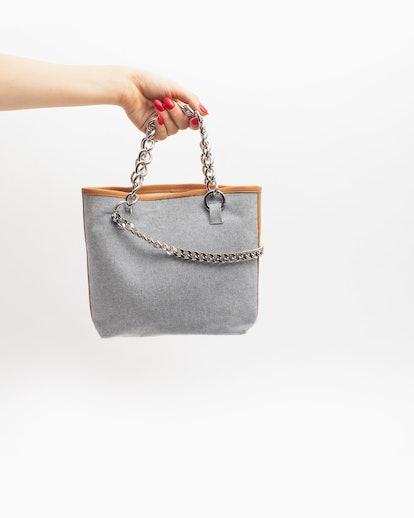 Janis Studios Darka Bag in Denim Size Small