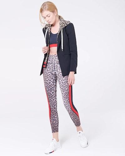 Billie Hoodie Dickey in Leopard