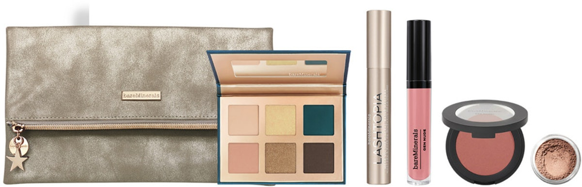 BareMinerals Meteor Shower 5-Piece Full-Size Makeup Collection Plus Bag