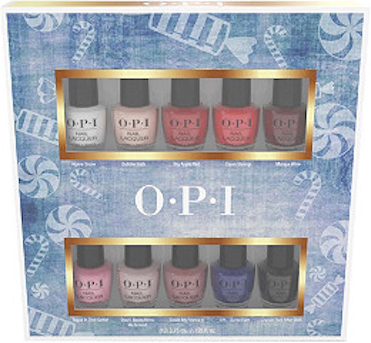 OPI Nutcracker Nail Lacquer Mini 10 Pack