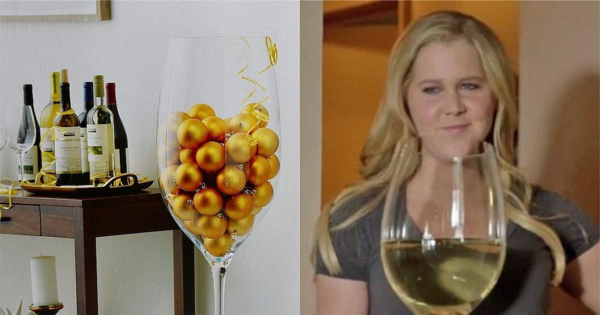 Four Foot Fall Decorative Wine Glass, Jumbo Wine Glass Costco