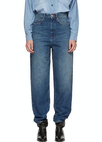 Blue Corsy Jeans