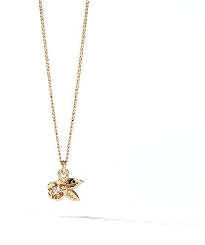 Meadowlark Alba Charm Necklace Stone Set