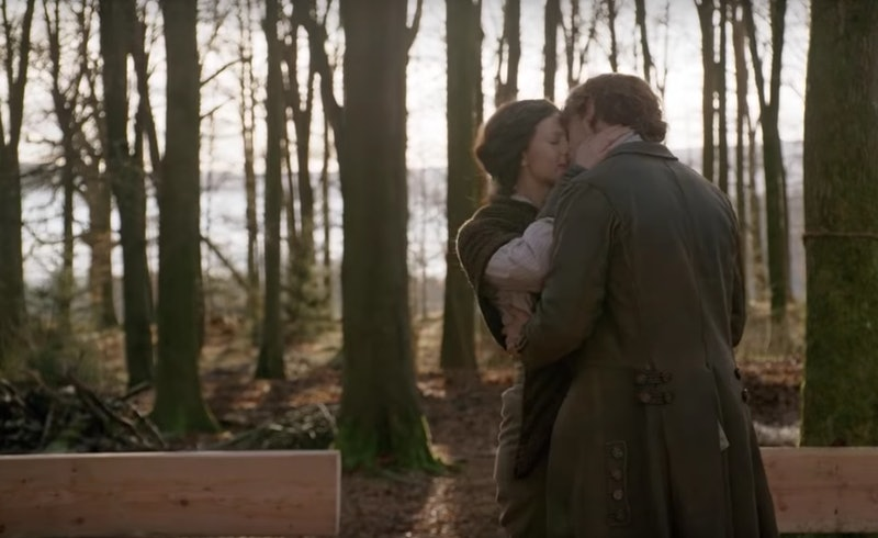 Jamie and Claire in 'Outlander' Season 4