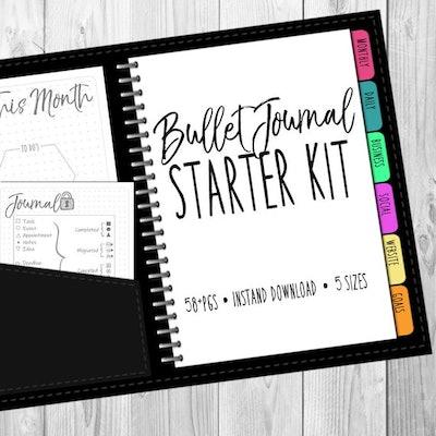 Bullet Journal Starter Kit Printable