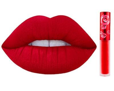 Lime Crime Lipstick in Red Velvet