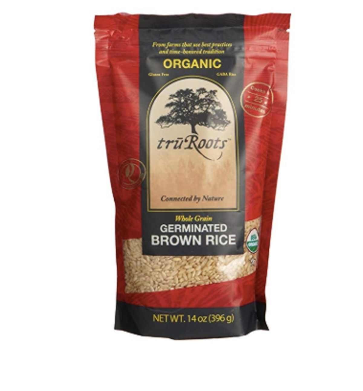 truRoots Organic Germinated Brown Rice