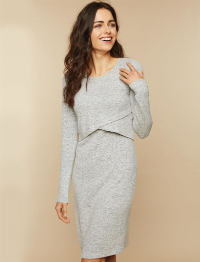 Nursing Sweater Dress