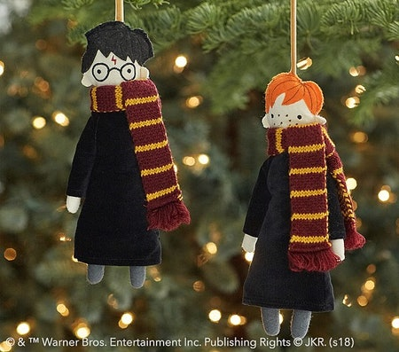 Pottery Barn S Harry Potter Christmas Decor Is As Festive