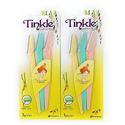 Tinkle Eyebrow Razors (Set of 6)