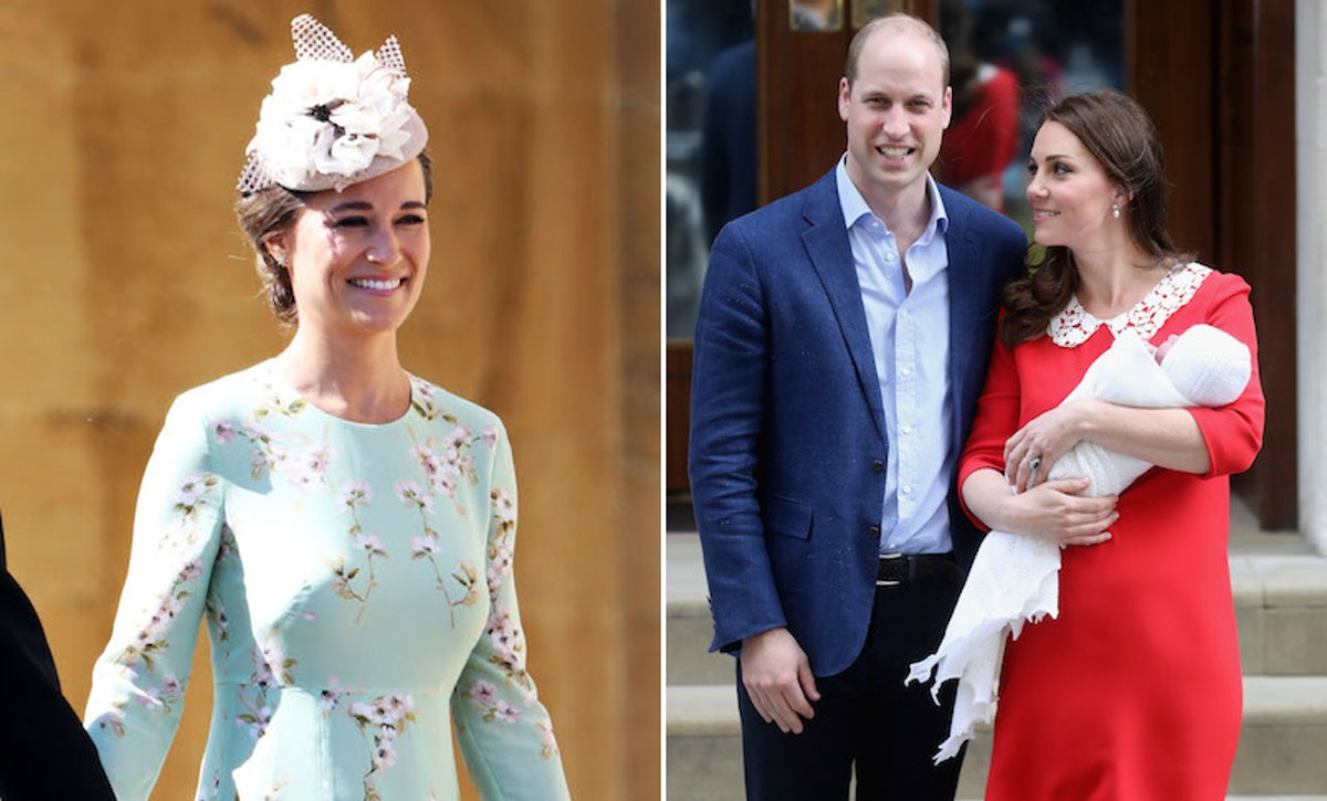 What Is Pippa Middleton's Baby's Name? It's Reportedly A Tribute To William & Kate's Son