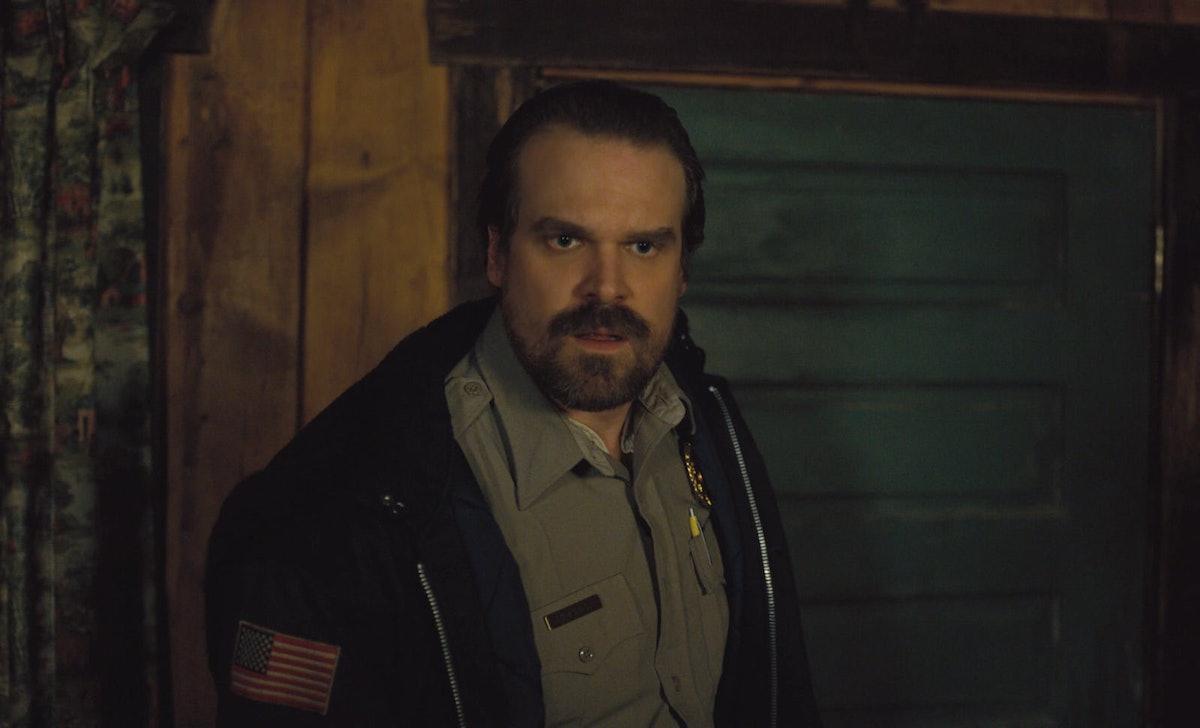 David Harbour's 'Stranger Things' Season 3 Wrap Photo Has Fans Theorizing