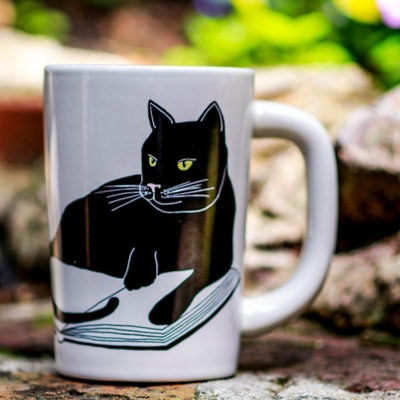 Bookstore. Cats. Life Is Sweet Mug