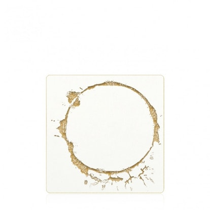 Assorted Gold Ring Coaster Set