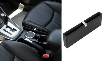 KMMOTORS Ultra Slim Car Pocket Organizer