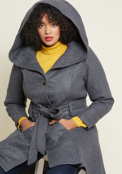Once Upon a Thyme Hooded Coat
