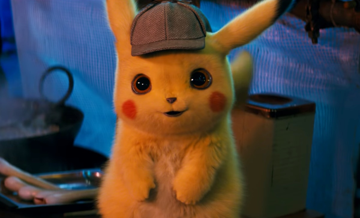 The 'Pokemon Detective Pikachu' Trailer Is Here, Starring Ryan Reynolds In His Pika Glory