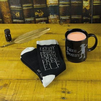Dobby Mug & Sock Set