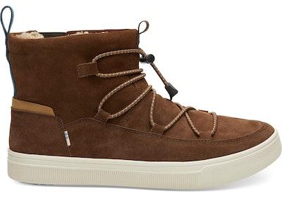 Water Resistant Bark Suede Men's TRVL LITE Alpine Boots