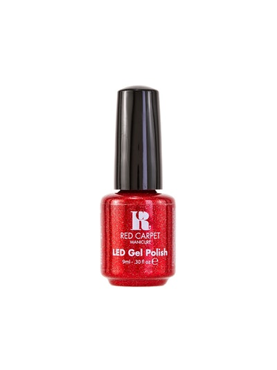 """Red LED Gel Nail Polish In """"Only In Hollywood"""""""