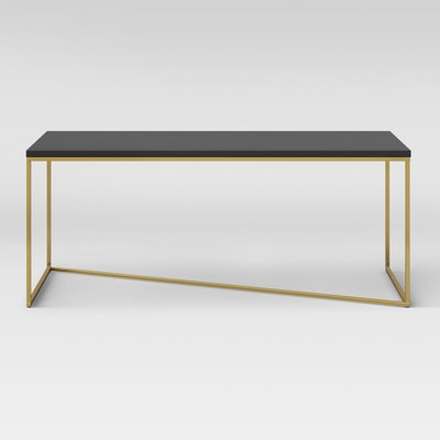Sollerod Coffee Table - Brass and Black - Project 62™
