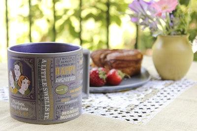 Bronte Sisters Literary Coffee Mug