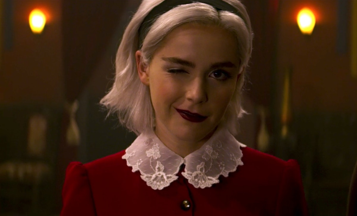 A 'Chilling Adventures Of Sabrina' Christmas Special Is Coming Sooner Than You Think