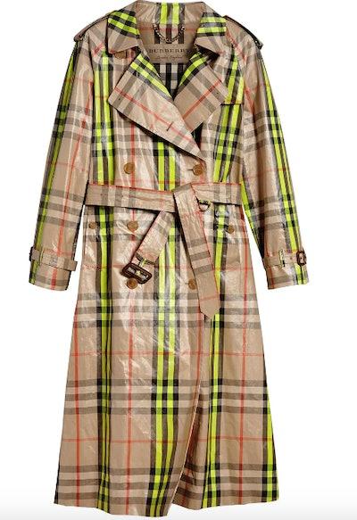 Check Rain Coat