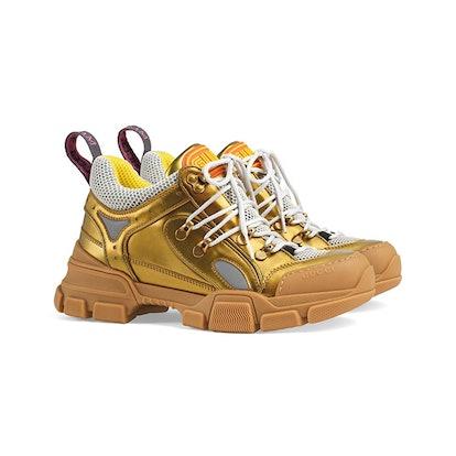 Flashtrek leather sneaker