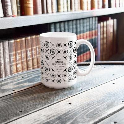 T.S. Eliot Literary Mug