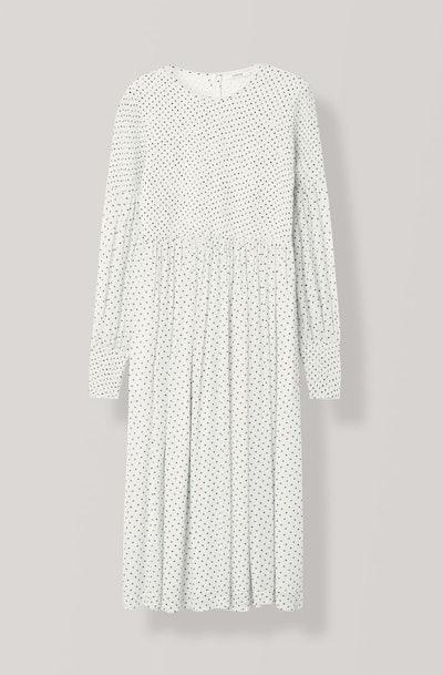 Rometty Georgette Smock Dress
