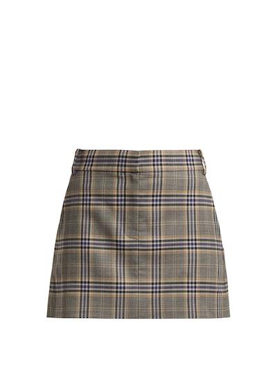 Lucas Check Skirt