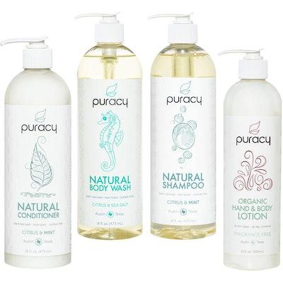 Puracy Organic Hair And Skin Care Set