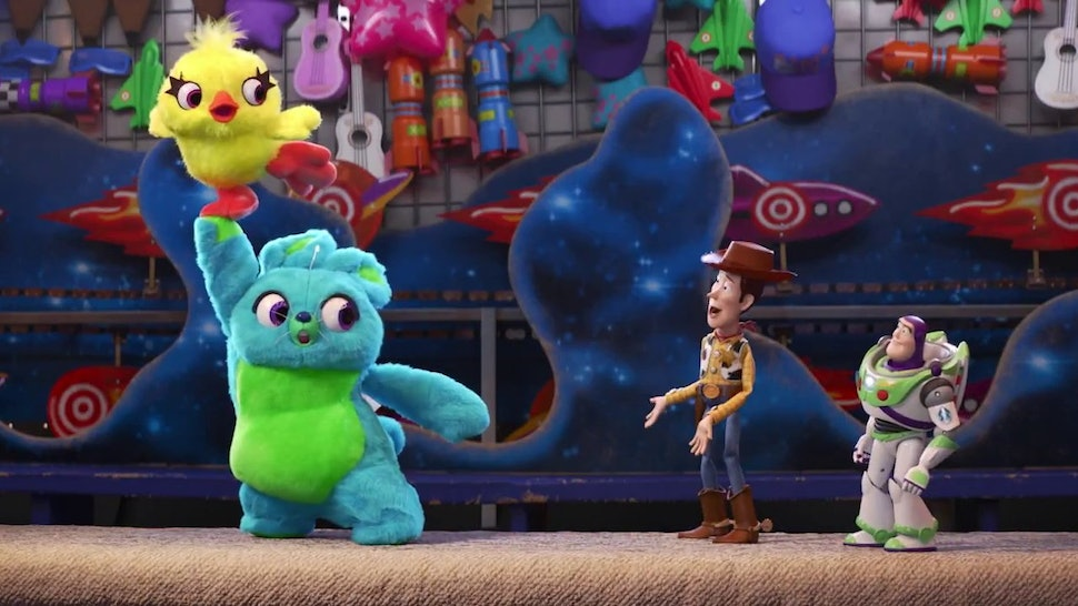 New Toy Story 4 Teaser Introduces Ducky Bunny Two New