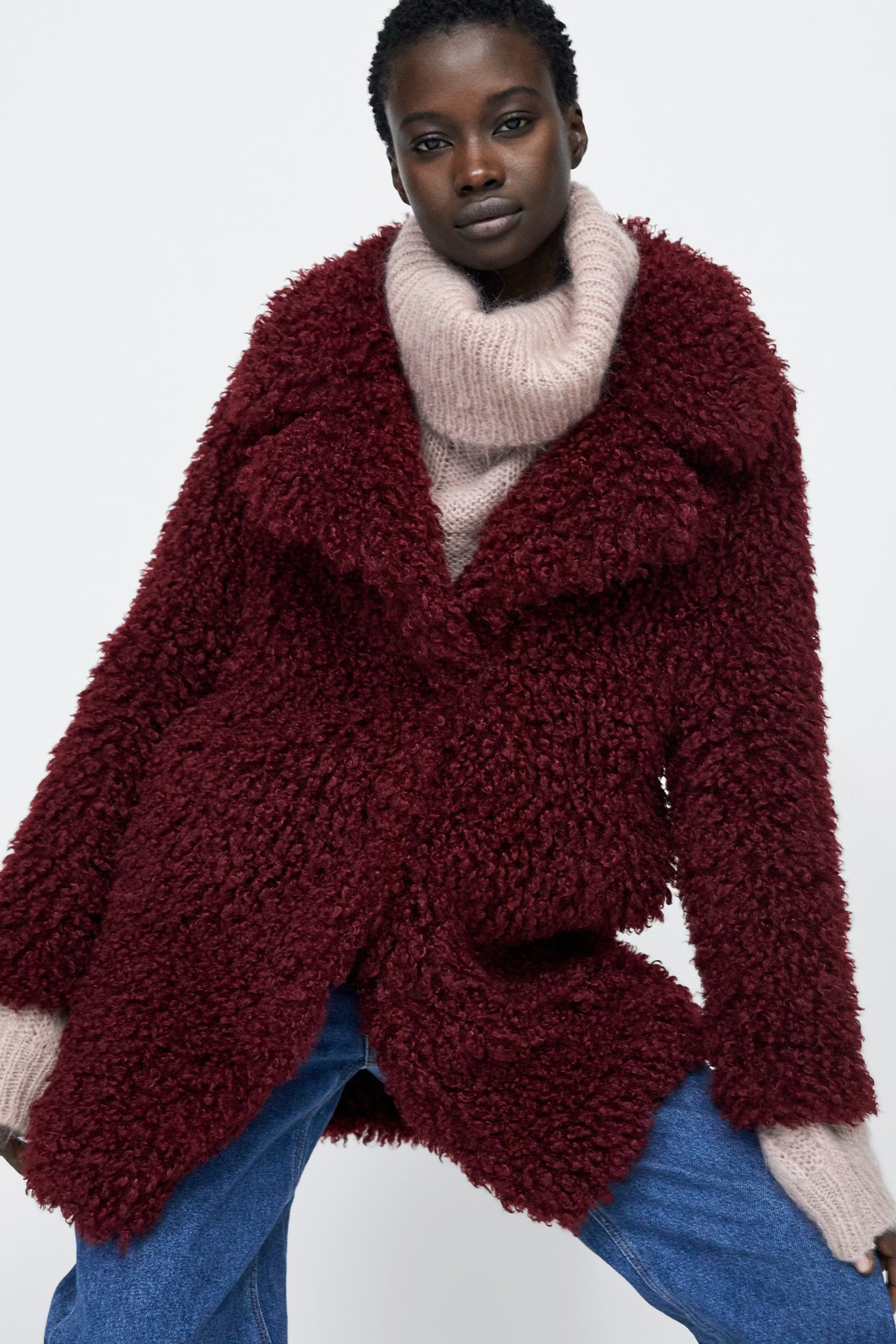 Soft Faux Fur Coat