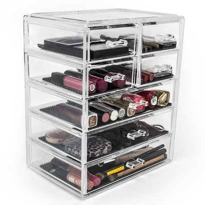 Sorbus Cosmetics And Jewelry Storage Case