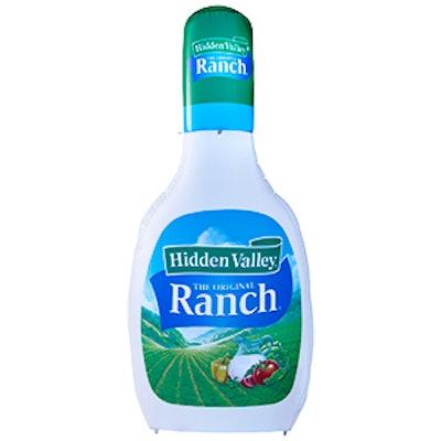 Hidden Valley Ranch Inflatable Bottle