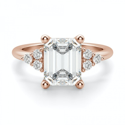 Muse 2.62 Carat Emerald Cut Engagement Ring