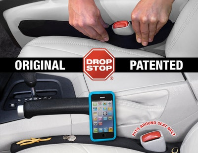 Drop Stop Car Seat Gap Filler (2-Pack)