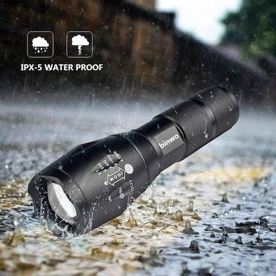 Binwo LED Tactical Flashlights (Set of 2)