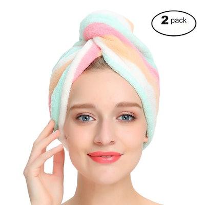 AuroTrends Microfiber Hair Wrap