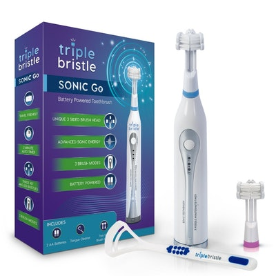 Triple Bristle Go Travel Sonic Toothbrush