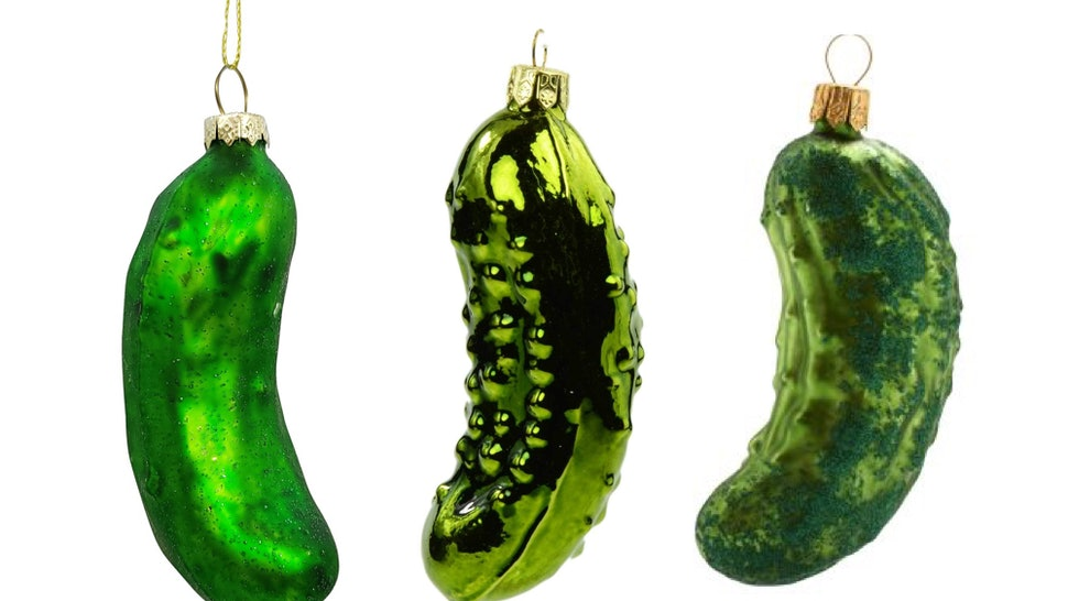 Christmas Pickle Tradition.Pickle Ornament