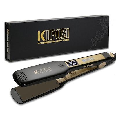 Kipozi Professional Titanium Flat Iron