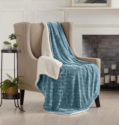 Home Fashion Designs Reversible Blanket