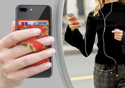 Alban Stick-On Cell Phone Wallet